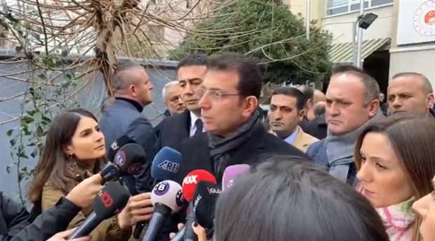 İmamoğlu'ndan Kanal İstanbul ÇED kararına tepki