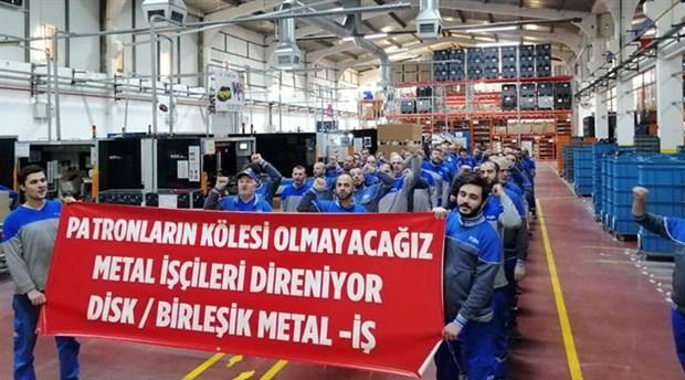 Metal işçisinin sabrı taştı