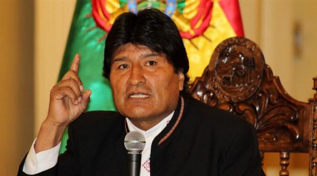 Morales'ten Bolivya'da ordunun sokağa çıkmasına tepki