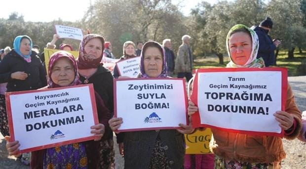 Ayvalık halkından Karakoç Barajı tepkisi: 'Büyük bir talanla karşı karşıyayız'