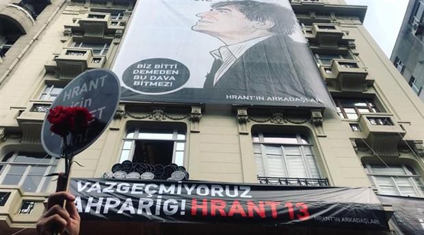 Hrant Dink katledilişinin 13. yılında anıldı: Unutmayacağız