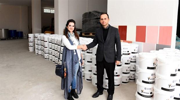 Seyhan Belediyesi'nden 'Senin Rengin' projesine destek: Okullar renklenecek