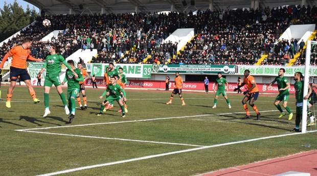 Kırklarelispor Türkiye Kupası'nda Başakşehir'i eledi
