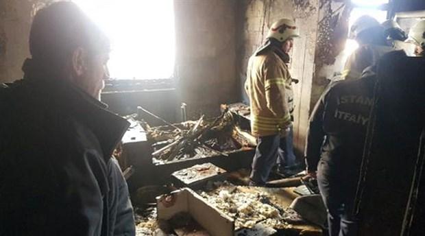 Büyükçekmece'de bir binada patlama: 1 yaralı