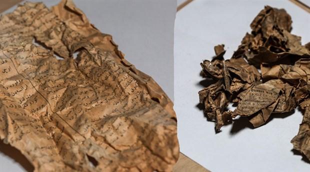 Dolmabahçe Sarayı'nda yüz yıllık gazete kupürleri bulundu