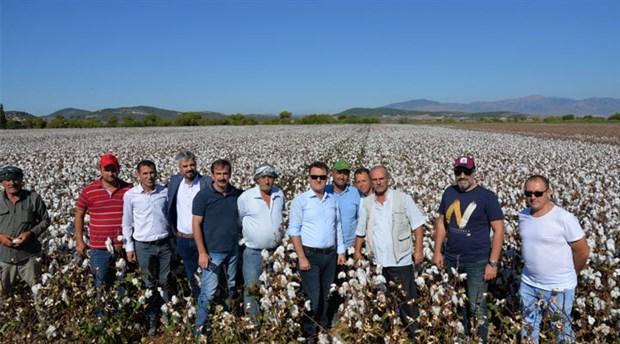 Menemen Belediyesi'nden pamuk üreticisine destek: Protokol imzalandı