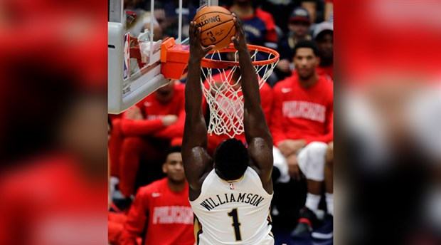 Zion Williamson NBA'deki ilk karşılaşmasına çıktı