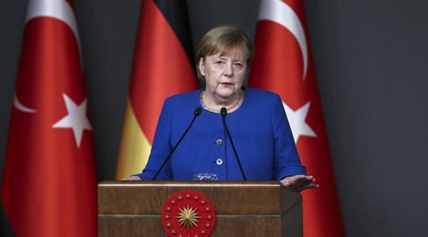 Almanya Başbakanı Angela Merkel, Türkiye'den ayrıldı