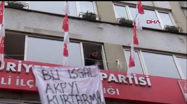 CHP Şişli ilçe binasında eylem yapan 5 kişinin 7.5 yıla kadar hapsi istendi