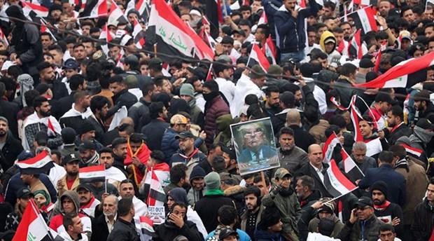 Irak'ta ABD karşıtı yürüyüş