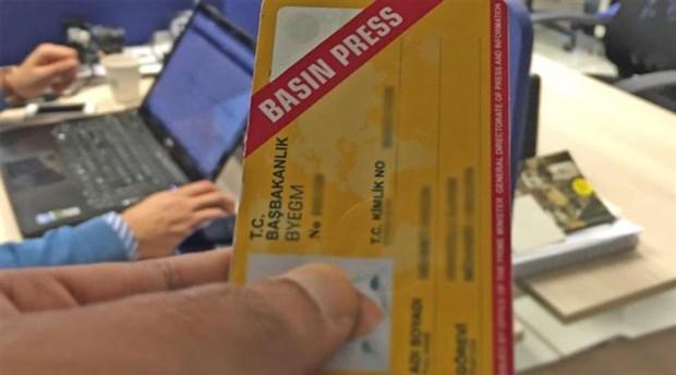 Muhalif gazetecilerin basın kartının iptal edilmesine kurumlardan tepki