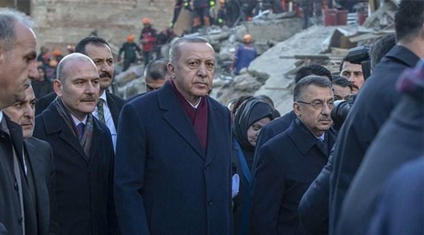 Erdoğan'ın talimatıyla deprem bölgesine yeni yardım