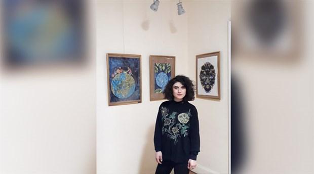 Ressam Ebru Tamer'in çalışmaları yoğun ilgi görüyor