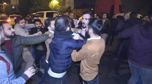Taksiciler kavga çıkardı: 11 gözaltı