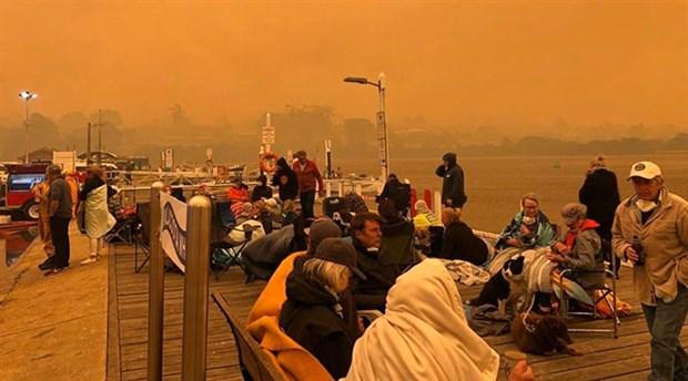 Canberra'da yangın Ohal'i