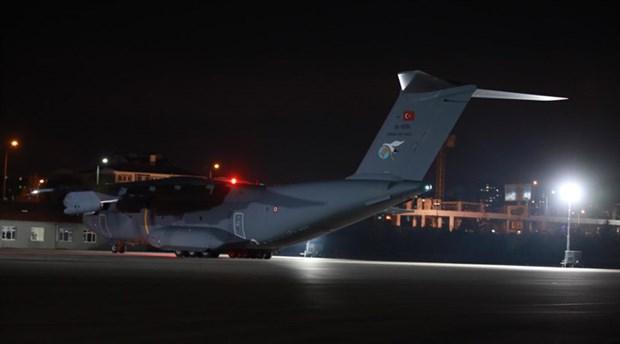 Çin'den gelen tahliye uçağı Ankara'ya indi