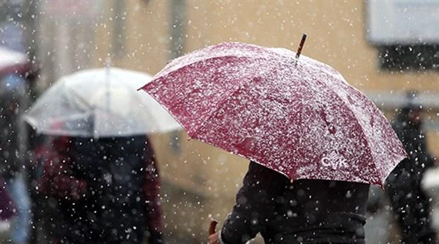 Meteoroloji'den İstanbul için sağanak ve kar yağışı uyarısı