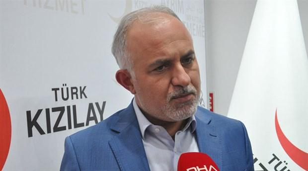 Türk Kızılay Genel Başkanı Kınık'tan 'bağış' açıklaması