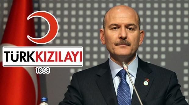 Süleyman Soylu'dan Kızılay'a 'destek operasyonu'