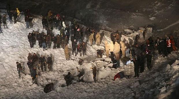 Van'da ikinci çığ faciası: 34 kişi yaşamını yitirdi