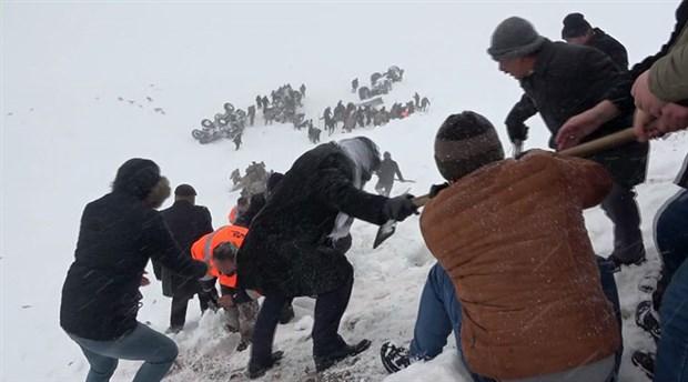 Çığ felaketinde yaşamını yitirenlerin sayısı 41'e yükseldi