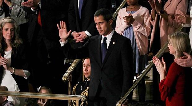 Trump ve Guaido Beyaz Saray'da görüştü