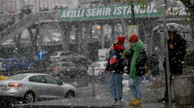 İBB saat verdi: İstanbul için kar yağışı uyarısı