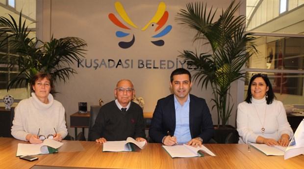 Kuşadası Belediyesi'nde toplu iş sözleşmesi imzalandı