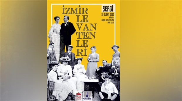 """""""İzmir Levantenleri"""" sergisi APİKAM'da"""