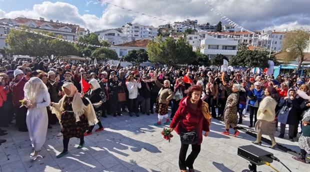 'Datça Badem Çiçeği Festivali' sona erdi