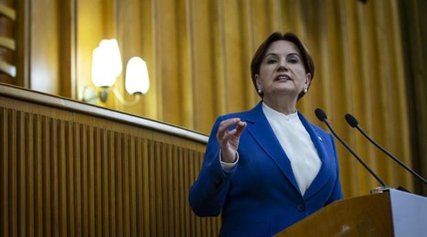 Akşener'den AKP'ye 'FETÖ'nün siyasi ayağı' çağrısı