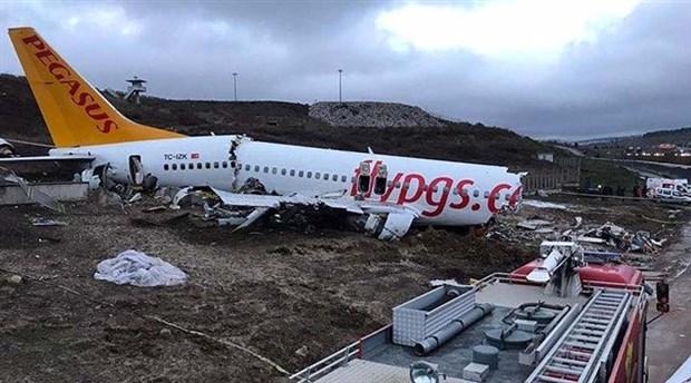 Sabiha Gökçen Havalimanı'ndaki uçak kazasına ilişkin 165 kişinin ifadesi alındı
