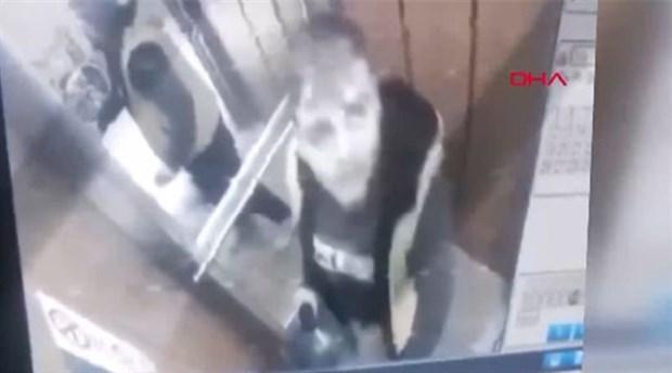 Damacanaya idrarını yapan sucu: Damacanaya değil, asansörün zeminine yaptım