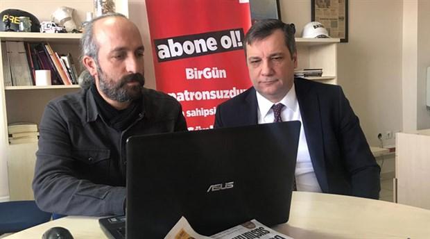CHP'li Ceylan'dan BirGün'e destek: Basın özgür değilse demokrasiden söz edilemez