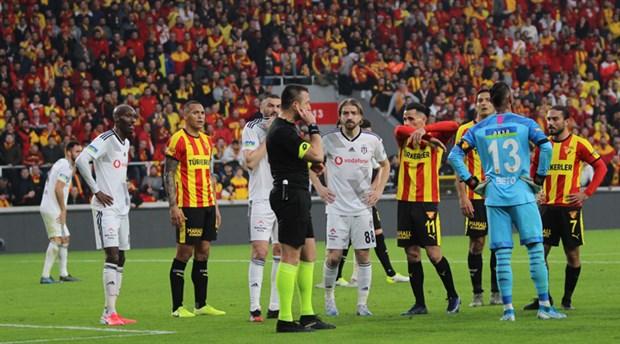 TFF: Göztepe-Beşiktaş maçında kural hatası yok