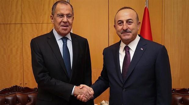 Lavrov ile görüşen Çavuşoğlu'ndan S-400 açıklaması