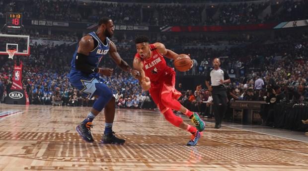 69. NBA All-Star maçını LeBron'un takımı kazandı