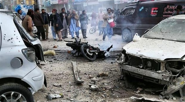 Pakistan'da 'Basın Birliği' binası yakınında patlama: 7 ölü