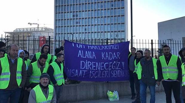 Teknopark işçileri haklarını istiyor!