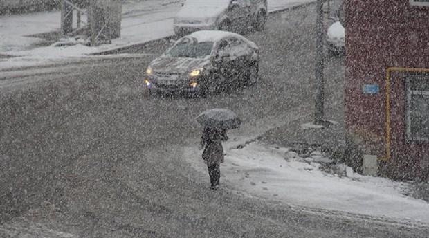 Meteoroloji'den 2 il için yoğun kar yağışı uyarısı