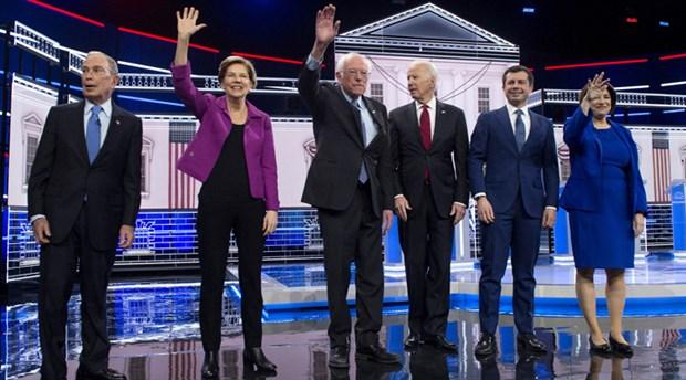 ABD'de Demokrat aday adayları karşı karşıya geldi: Bloomberg'e ortak tepki