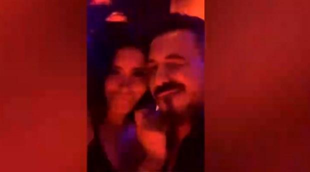 Firari palalı Sabri şarkıcı Ebru Polat ile Dubai'de eğleniyor