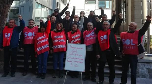 Sol Parti'den Bergama'da işten çıkartılan kadın işçilere destek