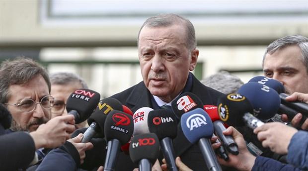 Erdoğan: Rejim çekilmedikçe bizim çekilmemiz söz konusu değil