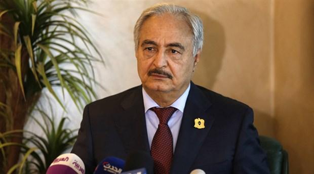 Hafter ateşkes için şartlarını açıkladı: Türkiye askeri ve Suriyeli militanlar çekilsin!