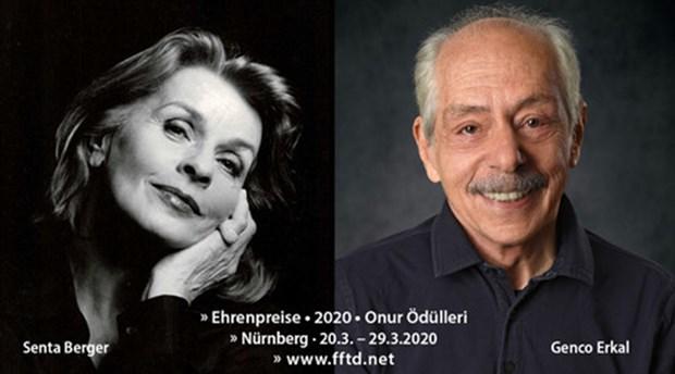 Nürnberg'ten Genco Erkal'a 'onur ödülü'