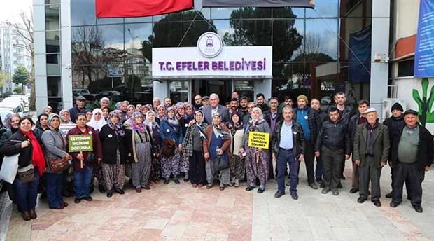 Jeotermal direnişine Belediye desteği