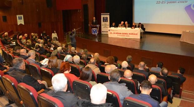 İMO Adana Şubesi'nin 23. Dönem Genel Kurulu birlik ve dayanışma mesajlarıyla tamamlandı
