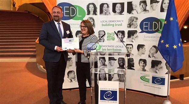 Çiğli'ye 'Yılın Partner Şehri' ödülü