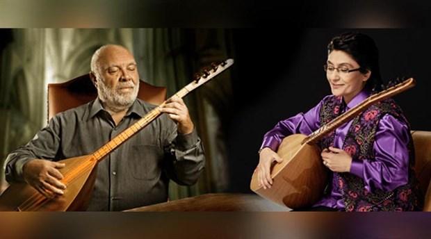 Musa Eroğlu ve Güler Duman, sazıyla sözüyle Kayseri ve Diyarbakır'da